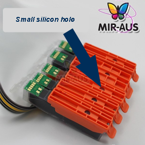small silicon hole